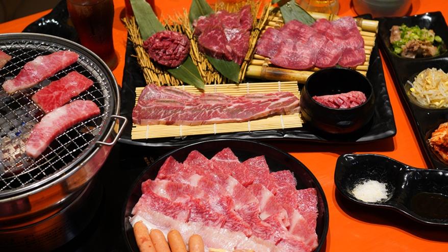 烤肉套餐 3,500円(約港幣$254)